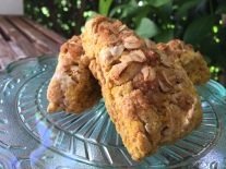 Pumpkin Pie Scones