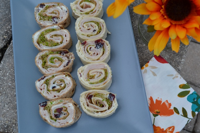 Turkey Cranberry Pinwheel